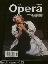 OPERA MAGAZINE - DECODING MONTEVERDI - JULY 1992