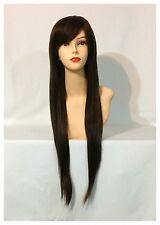 Stylish Long Straight Wigs, Party, Cosplay, Fancy Dress, Reddish Brown Colour