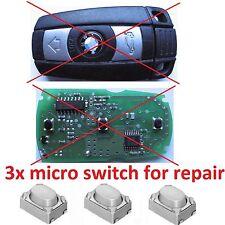 bmw E60 E70 E90 E71 E81 E82 E87 E88 Schlüssel REPARATUR Schalter Taster Knöpfe