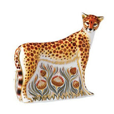 Royal Crown Derby Porcelain Animal Paperweight Cheetah