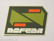 ADESIVO MOTO originale / Old Sticker NO FEAR (cm 7 x 5).