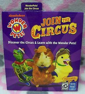 Join the Circus Wonder Pets Win/Mac CD-ROM Pre-School Play Learn Nickelodeon