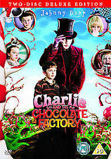 Charlie And The Chocolate Factory/Willy Wonka And the Chocolate Factory (DVD, 2007, 2-Disc Set)