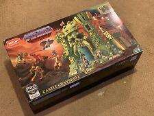 BNIB Mega Construx Castle Grayskull Masters Of The Universe He-Man Skeletor