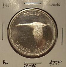 Canada 1967 Elizabeth II Silver Dollar - PL Cameo