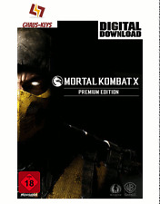 Mortal Kombat X Premium Edition Steam PC Key Game Code Global