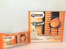 Peanut Butter Cracker Sandwich 1*15 Convenience Packs Thai Snacks Thai Foods