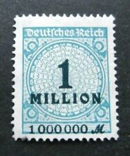 Germany-1923-1 Million-Inflation issue-MNH No gum