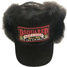 Dsquared2 Mens Unisex $1100 Fur Hat Medium NWOT. Authentic item! Made in Italy