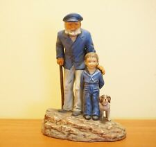 Norman Rockwell's Looking Out to Sea Figurine limited outward bound stay homes