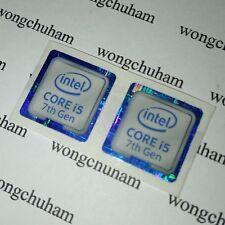 Intel CORE i5 inside Sticker 18mm x 18mm ( 7th Generation ) - { 2 PCS PER LOT }