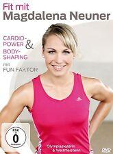 Fit mit Magdalena Neuner - Cardio-Power & Bodyshaping mit Fun Factor ! DVD neu !