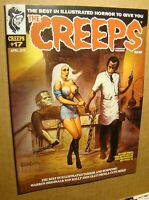 CREEPS 17 *NM/MT 9.8* KELLY ART WARREN CREEPY EERIE VAMPIRELLA