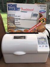 Zojirushi Bread Maker Home Bakery 2 lb Machine BBCC-V20
