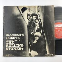 "THE ROLLING STONES ""December's Children""-1965 Mono LP First Pressing LL 3451"