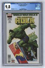 Incredible Hulk #717 1st App Amadeus Cho as Brawn Precedes Champions #22 CGC 9.8