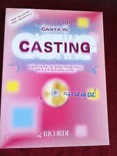 SPARTITI + CD CANTA in CASTING POP ITALIANI voci FEMMINILI RICORDI MLR 762