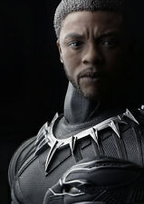Pizscustom 1/6 Scale Black Panther T'Challa Head Sculpt For Hot Toys BP Figure