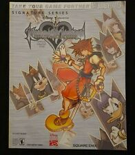 Kingdom Hearts Chain of Memories BradyGames Strategy Guide