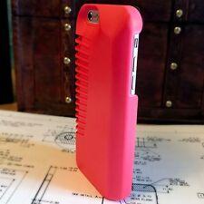 Apple iPhone 5 Rugged High Impact Sound Enhancement Ballistic Shell Pink Case