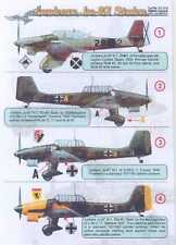 Print Scale Decals 1/72 JUNKERS Ju-87 STUKA Dive Bomber