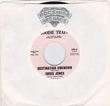 FUNK 45RPM - CHRIS JONES ON GOODIE TRAIN - RARE!  BEAUTIFUL COPY!  W/ SLEEVE!