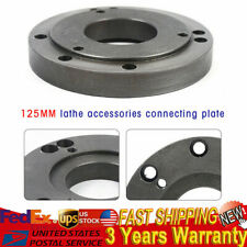 Cnc Metalworking Lathe Machine Tool Part Lathe Back Plate Connection Plate 125mm