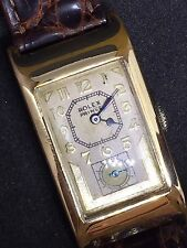 "Rare Men's 1934 Rolex Prince Two Piece Case ""Doctor's"" Dial Watch"