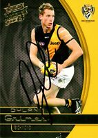 ✺Signed✺ 2015 RICHMOND TIGERS AFL Card DYLAN GRIMES