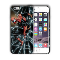 Super Hero Spider-Man Iphone 4s 5 SE 6 6s 7 8 X XS Max XR 11 Pro Plus Case nn6
