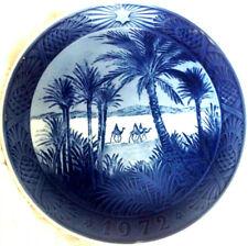 Vintage Royal Copenhagen Christmas Plate 1972 - In the Desert, Artist Kay Lang.