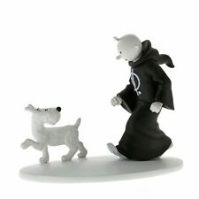 Hors série Tintin toge et Milou en Inde Figurine résine + livre MOULINSART