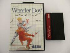 WONDER BOY in MONSTER LAND - SEGA MASTER SYSTEM