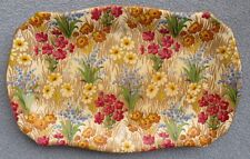 Royal Winton Marguerite Floral Chintz Relish or Bonbon Serving Tray