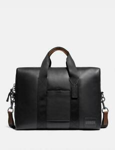 COACH Pacer Brief MENS LEATHER Briefcase NWT 79543 $495