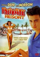 Private Resort (DVD, 2006) VERY RARE JOHNNY DEPP'S FIRST STARRING ROLE FILM