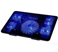 5 Fan Laptop Cooler for 10''-17'' Cooling Pad LED USB Notebook with 5 Fans