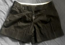 A Pair of slightly altered, Oasis Women's, Black Shorts in size 8.
