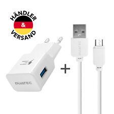 LG K10 Micro USB Ladekabel Ladegerät Netzteil Schnellladekabel