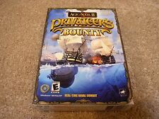 PC CD-ROM Age of Sail II: Privateer's Bounty with box and manual