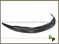 JPM Carbon Fiber  Front Bumper Add on Lip Fits For 2004-2010 BMW E63 E64 M6 Only