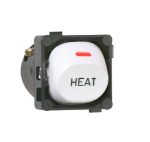"Clipsal 30HM Switch Mechanism 1 Pole 2-Way 250VAC 10A 30 Series marked ""Heat"""