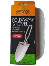 Stainless Steel Foldaway Portable Hand Shovel Garden Outdoor