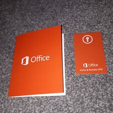 5x Microsoft Office Home and Business 2016 UK