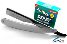 Shaving Razor incl. 100 Derby Blades Barber Salon Man Beard Shave Natra Germany