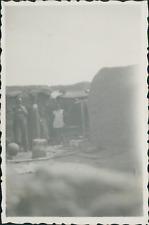 Sénégal, Dori, campement Peulh Vintage silver printPhotographie appartenant à