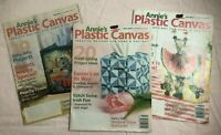 Annie's Plastic Canvas Magazine Patterns March May July 2004 Easter Sunflower Bl