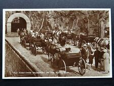 More details for channel island sark old fashioned transport on the quay c1930s rp postcards
