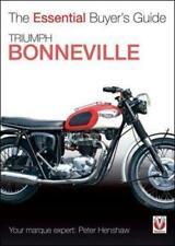 Triumph Bonneville 120 140 650 750 motorcycle BUYER'S GUIDE  1959-1988 BOOK