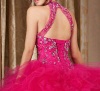 New Beaded Quinceanera Dresses Ball Gown Formal Prom Party Gowns Sweet 15 Dress